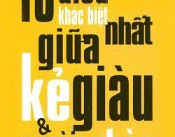 10 Điều Khác Biệt Nhất Giữa Kẻ Giàu & Người Nghèo PDF/Ebook/Epub
