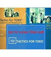 Sách 500 Từ Vựng Tổng Hợp Từ Tactics For TOEIC PDF/Ebook