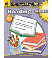 Sách Daily Warm-Ups Reading Grade 8 PDF/Ebook