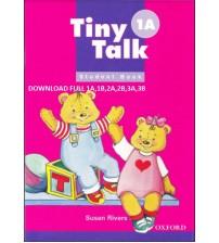 Bộ Sách Tiny Talk 1A, 2A, 3A; 1B, 2B, 3B Bản Đẹp Full Ebook+Audio