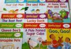 Bộ sách Phonic tales 25 cuốn (ebook +audio) tập hợp các câu chuyện hấp dẫn giúp trẻ nhập tâm và nhớ lâu cũng như học nhanh các ngữ âm chính bao gồm các nguyên âm ngắn và dài, nguyên âm. Với mỗi câu chuyện đều có một câu đố về âm học để kích thích trẻ. Ngoài ra các hình minh họa trong truyện đều rất đẹp mắt gây trí tưởng tượng và tò mò, cuốn hút trẻ.